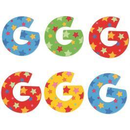 Bigjigs Toys hvězdičkové písmenko G