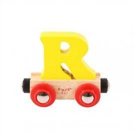 Bigjigs Rail vagónek dřevěné vláčkodráhy - Písmeno R