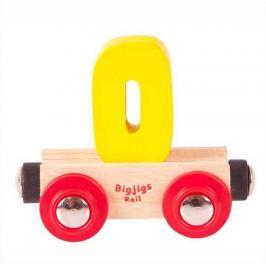 Bigjigs Rail vagónek dřevěné vláčkodráhy - Číslo 0