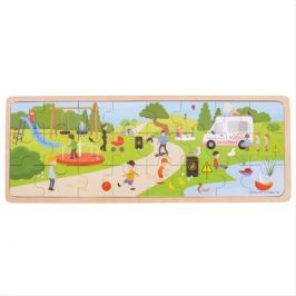 Bigjigs Toys puzzle - V parku
