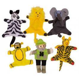 Prstoví maňásci - sada Safari