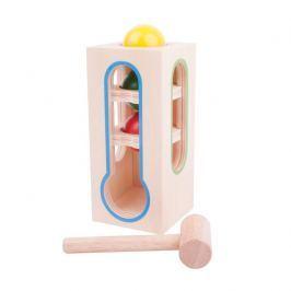 Bigjigs Toys zatloukačka - věž