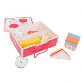 Bigjigs Toys Dřevěné hračky - Svačinkový box