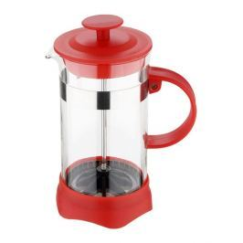 RENBERG Konvička na čaj a kávu French Press 800 ml červená