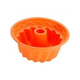 RENBERG Forma na bábovku silikonová 23 cm, oranžová