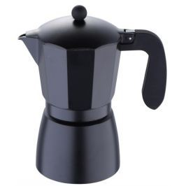 BERGNER Konvice na espresso, 9 šálků, černá