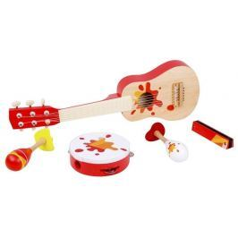 Classic World Sada dřevěných hudebních nástrojů - 5 ks