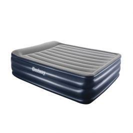 Bestway (Master - Foltýn) Nafukovací matrace BESTWAY Cornerstone Queen s pumpou - modrá