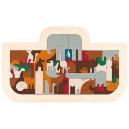 HAPE dřevěné puzzle - Velká Neomova archa