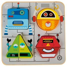 HAPE - Vkládací puzzle Roboti
