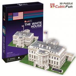 CUBICFUN Puzzle 3D Bílý dům - 64 dílků