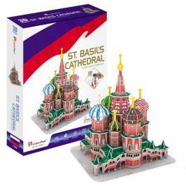 CUBICFUN 3D puzzle Chrám Vasila Blaženého 92 dílků
