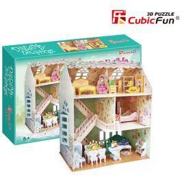 CUBICFUN 3D puzzle  - Domek snů pro panenky 3D