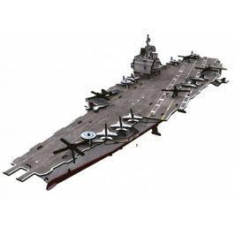 CUBICFUN 3D puzzle  -  Letadlová loď USS Enterprise 121 dílků