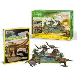CUBICFUN 3D puzzle Dinosauří park 43 dílků
