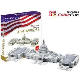 CUBICFUN Puzzle 3D Capitol Hill - 132 dílků