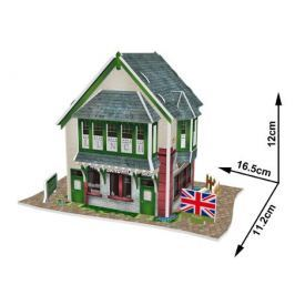 CUBICFUN 3D puzzle  - Britský obchod se sendviči 36 dílků