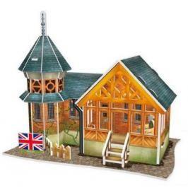 CUBICFUN 3D puzzle  - Britská vila 25 dílků