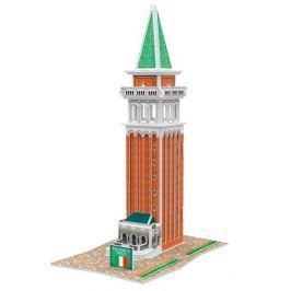 CUBICFUN 3D puzzle  - Zvonice svatého Marka 18 dílků