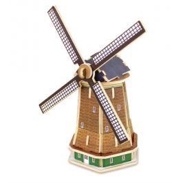 ROBOTIME 3D dřevěné puzzle Holandský větrný mlýn 36 dílků barevný