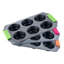 BERGNER Forma na muffiny se silikonovými rukojeťmi  BONIO