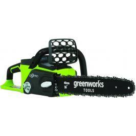 Greenworks GD40CS40 řetězová pila s aku indukčním motorem 40 V