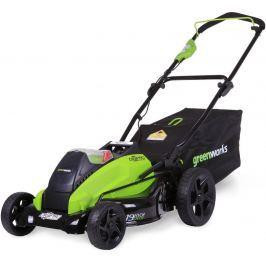 Greenworks GD40LM45 akumulátorová travní sekačka 40 V s indukčním motorem