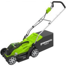 Greenworks G40LM35 40 V aku travní sekačka 35 cm