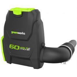 Greenworks GD60BLB 60 V zádový aku foukač s indukčním motorem