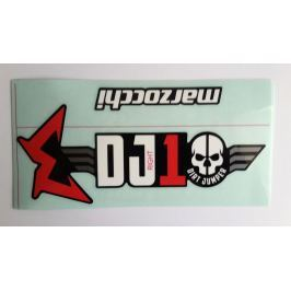 MARZOCCHI Samolepy na DJ1 mod 2018