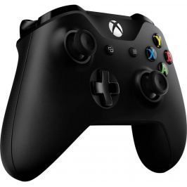 Microsoft Xbox ONE Gamepad, bezdrátový, černý (XONE S)