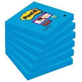 3M POSTIT Samolepicí bloček, modrá, 76x127 mm, 90 listů,