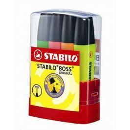 STABILO Zvýrazňovač Boss Parade, mix barev, 2-5mm, 4ks/bal.,