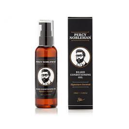 Percy Nobleman Vyživující olejový kondicionér na vousy s dřevitou vůní (Beard Conditioning Oil) 100