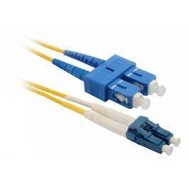 SOLARIX Patch kabel 9/125 LCupc/SCupc SM OS 2m duplex SXPC-LC/SC-UPC-OS-2M-D