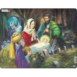 LARSEN Puzzle Narození Ježíška 33 dílků
