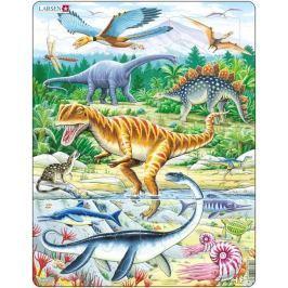 LARSEN Deskové puzzle  35 dílků - Dinosauři