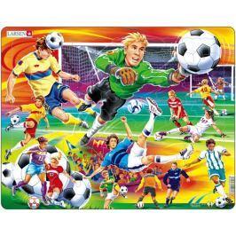 LARSEN Dětské puzzle  65 dílků Fotbal