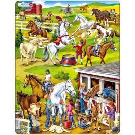 LARSEN Dětské puzzle  50 dílků Koně
