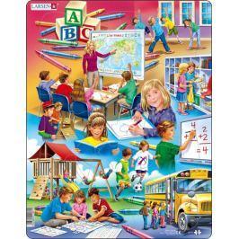 LARSEN Puzzle Zpátky do školy 33  dílků