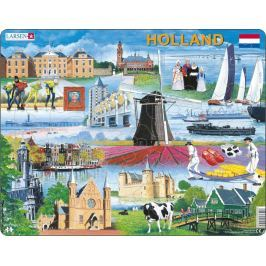 LARSEN Puzzle Holandsko 66 dílků