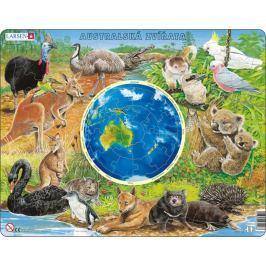 LARSEN Výukové puzzle  90 dílků - Australská zvířata