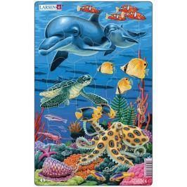 LARSEN Puzzle MIDI - Podmořský život/25 dílků (2 druhy)