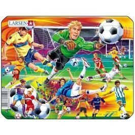 LARSEN Dětské puzzle  14 dílků - Na fotbale
