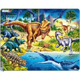 LARSEN Puzzle Dinosauři 57 dílků