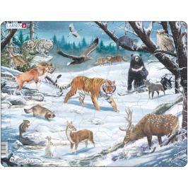 LARSEN Puzzle Sibiř 66 dílků