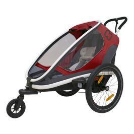Hamax Dětský vozík  Outback One červeno-šedá