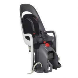 Hamax Cyklosedačka  s adaptérem na nosič CARESS PLUS  - šedá/bílá/černá, bílo-černá