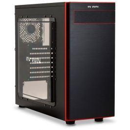 IN WIN Midi ATX skříň  703 Black/Red