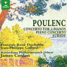 CD Poulenc - Duchable / Klav.kon